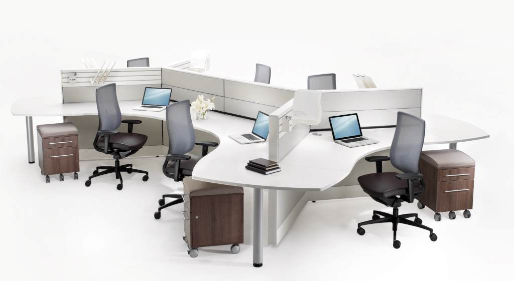 Image result for Round Edges And. Straight Lines office furniture settings