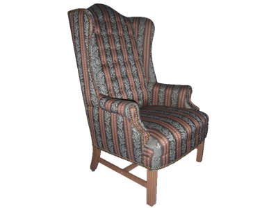 Picture of Heritage Wing Back Side Chair