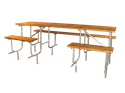 Picture of Wood Slat A.D.A. Picnic Table (9ft)