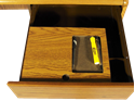 Picture of CLEARANCE: AC Bread Board Insert Legal Legal Width Drawer Cherry