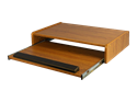 Picture of CLEARANCE: AC Desktop Keyboard Drawer Walnut