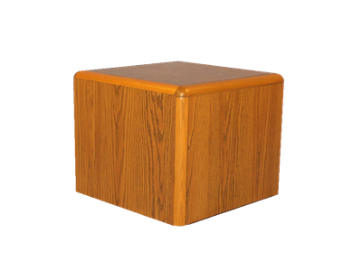 Picture of CLEARANCE: Eclipse End Table 24W x 20H x 24D, Walnut