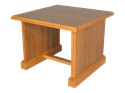 "Picture of CLEARANCE: HTG End Table Walnut 24""x 24"" x 18-11/16"" W x D x H"