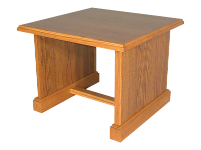 Picture of CLEARANCE: Heritage End Table  Walnut