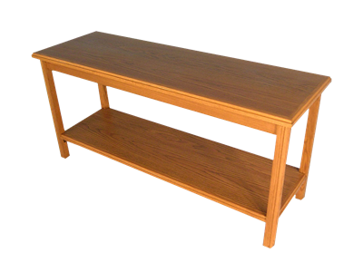 Picture of CLEARANCE: Heritage Sofa Table 72W x 28H x 20D, Mahogany