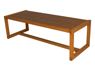 "Picture of CLEARANCE: STM Coffee Table Mahogany 51""W x 16""H x 20""D"