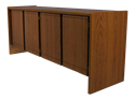 "Picture of CLEARANCE: STM Double Door Credenza (4 - Doors) 72"" Long - Mah"