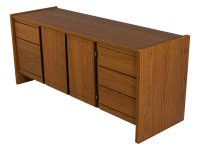 Picture of CLEARANCE: STM Executive Credenza Walnut