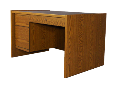 Picture of Statesman Single Pedestal Desk