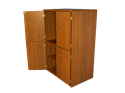Picture of CLEARANCE: STM TV/VCR Storage Cabinet Walnut