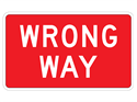 Picture of Wrong Way