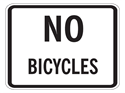 Picture of No Bicycles