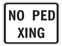 Picture of No Ped Xing