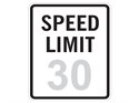 Picture of Speed Limit-30 MPH