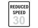 Picture of Reduced Speed 30