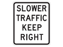 Picture of Slower Traffic Keep Right