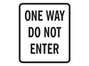 Picture of One Way Do Not Enter