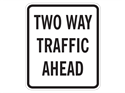 Picture of Two Way Traffic Ahead
