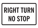 Picture of Right Turn No Stop