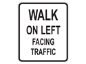 Picture of Walk On Left Facing Traffic