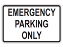 Picture of Emergency Parking Only