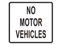 Picture of No Motor Vehicles