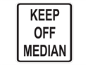 Picture of Keep Off Median