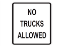 Picture of No Trucks Allowed