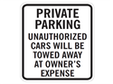 Picture of Private Parking Unauthorized Cars Will Be Towed