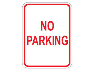 Picture of No Parking