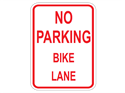 Picture of No Parking Bike Lane