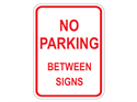 Picture of No Parking Between Signs