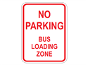 Picture of No Parking Bus Loading Zone