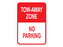 Picture of Tow-Away Zone No Parking