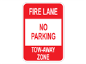 Picture of Fire Lane No Parking Tow-Away Zone