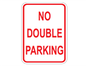 Picture of No Double Parking