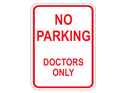 Picture of No Parking Doctors Only