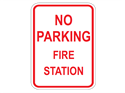 Picture of No Parking Fire Station