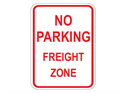 Picture of No Parking Freight Zone