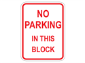 Picture of No Parking In This Block