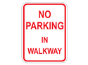 Picture of No Parking In Walkway