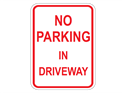 Picture of No Parking In Driveway