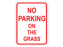 Picture of No Parking On The Grass
