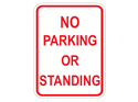 Picture of No Parking Or Standing