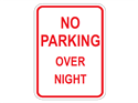Picture of No Parking Overnight