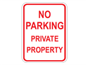 Picture of No Parking Private Property
