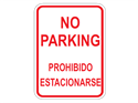 Picture of No Parking Prohibido Estacionarse