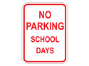Picture of No Parking School Days