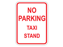 Picture of No Parking Taxi Stand