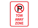 Picture of Cross Out 'P' Tow-Away Zone